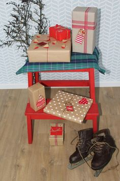 Ako zabaliť darčeky - handmade / weim / SAShE.sk