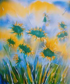 akvarel na svili - s 0121