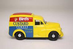 Bildergebnis für Morris Minor van Bird's Custard, Morris Minor, Van, Yellow, Vans, Gold, Vans Outfit