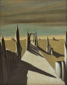 Kay Sage - 1941 - White Silence