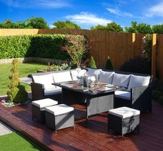 Cool Sofa And Dining Table Intended For Fantasy Black Rattan Garden Furniture