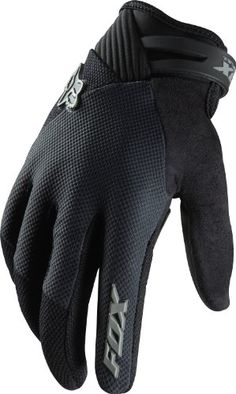 Fox Head Men's Reflex Gel Glove, Black, X-Large - http://ridingjerseys.com/fox-head-mens-reflex-gel-glove-black-x-large/
