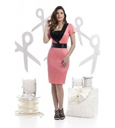 dfd76b126 Vestido Executiva confeccionado Sattin com elastano