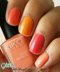 Glitter and Nails: La famille Sorbet - Kiko