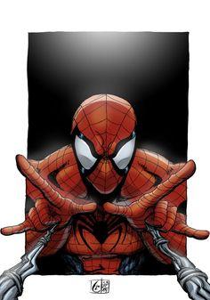 #Spiderman #Fan #Art. (Spidey Caught You. Color) By:LostArno. (THE * 3 * STÅR * ÅWARD OF: AW YEAH, IT'S MAJOR ÅWESOMENESS!!!™)[THANK Ü 4 PINNING!!!<·><]<©>ÅÅÅ+(OB4E)     https://s-media-cache-ak0.pinimg.com/564x/cb/c1/72/cbc1723505ed04d0b3047eee9bb39418.jpg