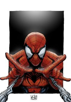#Spiderman #Fan #Art. (Spidey Caught You. Color) By:LostArno. (THE * 5 * STÅR * ÅWARD * OF: * AW YEAH, IT'S MAJOR ÅWESOMENESS!!!™)[THANK U 4 PINNING!!!<·><]<©>ÅÅÅ+(OB4E)