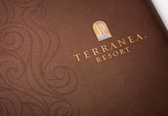 Folder & branding for Terranea resort that I did while at VVC/JacobTyler.