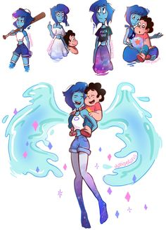 I wish Lapis could flip the bird in the cartoon, it just fits her like a glove XD