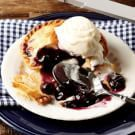 Try the Blueberry Mini Pies with Lemon Buttermilk Ice Cream Recipe on williams-sonoma.com/