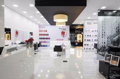Salão cabeleireiro, Braga, Portugal. Projecto elaborado pela nossa equipa de criativos.   Contactos:  Telm. 916242918   filipefrancisco@expocabeleireiros.com