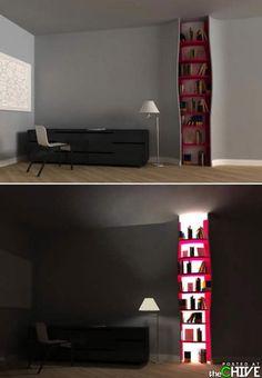 Maybe I am just a sucker for a light up bookshelf?
