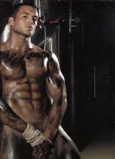 Australian model and rugby league player Daniel Conn