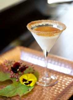 Creme Brulee Martini.. Umm.. Yea.... This excites me like beyond!!!!!