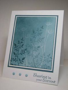 FS190 Sympathy in Baja kh by Kelly H - Cards and Paper Crafts at Splitcoaststampers