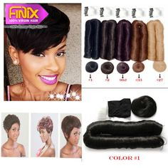 Find More Human Hair Extensions Information about Clearance Sale!!!Short Brazilian Human Hair Color 1 2 4 99j 33 Real Human Hair Extensions 27 Pieces Short Human Hair Weave Style,High Quality hair weave body wave,China hair weave bundles Suppliers, Cheap weave rope from Finix Hair Co. Ltd on Aliexpress.com - Looking for Hair Extensions to refresh your hair look instantly? http://www.hairextensionsale.com/?source=autopin-thnew