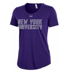 149f20f25ecc Under Armour New York University Women s Short Sleeve T-Shirt  30.00  nyu  York University