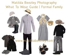 What to Wear ~ Formal Family/City Family