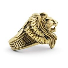 The King Ring - Proclamation Jewelry Mens Gold Jewelry, Mens Gold Rings, Rings For Men, Men's Jewelry Rings, Cute Jewelry, Jewellery, King Ring, Ring Designs, Jewelry Design