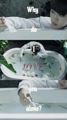 Jimin ◎ Lockscreen  | Wallpaper  I NEED U Japanese ver. | BTS | Bangtan Boys