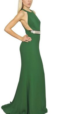 Stella Mccartney Green Maxi Dress
