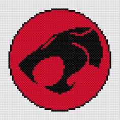 Thundercats logo and Sword of Omens - two counted cross stitch patterns. £2.30, via Etsy.