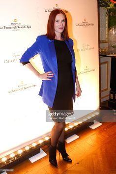 Actress Audrey Fleurot, pregnant, attends 'Shangri-La Hotels and Resorts'…