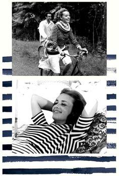 "Stripes (Jeanne Moreau in ""Jules et Jim"")"