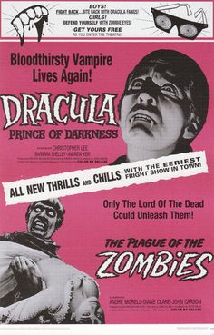 CHRISTOPHER LEE in The Plague of Zombies A wonderfully atmospheric outing from Hammer Films, who diverged from their often successful variations on Universal's classic monsters into the world of zombies, a genre which had yet to receive its infusion of terrifying new blood with the 1968 classic Night of the Living Dead   Unfolds as a series of intriguing contrasts: between life and death, male and female, tradition and modernity, science and voodoo.[R***