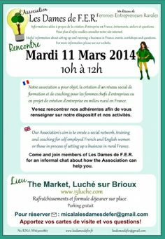 Classified on RootstockAds : Networking for Self Employed Ladies South Deux Sevres [79] March 11th 2014