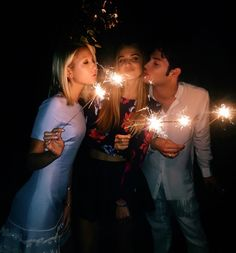 Princess Maria-Olympia of Greece and Denmark, Talita von Furstenberg and Peter Brant celebrate July 4, 2016.