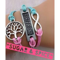 Best friend  infinity bracelets uploaded to order visit www.facebook.com/sugarandspice22 or email cassie.leigh.wood@gmail.com
