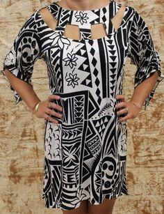 Wahine (Women) - Missing Polynesia Hawaiian Wear, Hawaiian Fashion, Hawaiian Muumuu, New Dress Pattern, Dress Patterns, Latest African Fashion Dresses, Women's Fashion Dresses, Island Wedding Dresses, Island Outfit