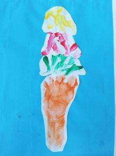 Birthday Candles, Ice Cream, Ice, Children, Paint, No Churn Ice Cream, Icecream Craft, Gelato