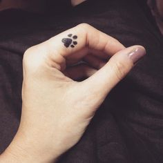 65 Best Paw Print Tattoo Meanings and Designs - Nice Trails Check more at http://tattoo-journal.com/65-best-paw-print-tattoo-meanings-and-designs-nice-trails/