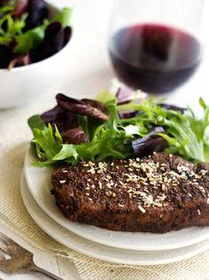 #HealthyRecipe / Chocolate Coffee Rubbed Steak with Coconut