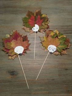 Autumn leaves - creative decoration and handicraft ideas - house decoration more - Fall Crafts For Kids Autumn Crafts, Fall Crafts For Kids, Autumn Art, Nature Crafts, Diy For Kids, Autumn Leaves, Kids Crafts, Diy And Crafts, Arts And Crafts
