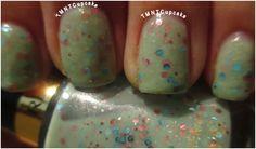 Revlon - Whimsical  Nail Polish = Nail Art!