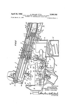 Patent US3380183 - Upper handguard fixedly mounted on barrel assembly by…