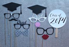 3PC Graduation Grad Emoji Emoticon Balloons Graduation Party Home DIY Deco#wy