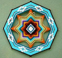 OJO DE DIOS   Weave a God's Eye · Needlework News | CraftGossip.com