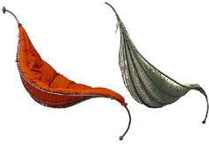 I want to see these in action.  They look like Aladins shoes.  Hammock