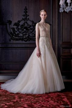 Monique Lhuillier 2016 Spring / Summer Wedding Dresses