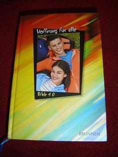German Bible 4 U (for Teenagers) / Hoffnung fur alle / Die Bibel, die unsere Sprache spricht Teenager, Foreign Languages, German, Bible, Frame, Videos, The Bible, Deutsch, Biblia