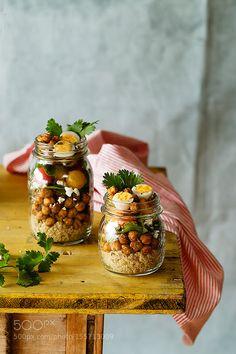 Salad in jar by RaquelCarmonaRomero