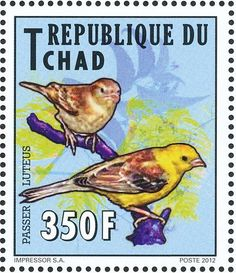 Sudan Golden Sparrow stamps - mainly images - gallery format