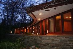 Delawares Only Frank Lloyd Wright House Listed for $1.35M - House of the Day - Curbed National