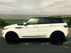 RANGE ROVER EVOQUE, FUJI WHITE, 2012, BLACK AND WHITE LIMITED EDITION! Rr Evoque, Range Rover Evoque, Range Rovers, Car Goals, Car Travel, College Graduation, Fuji, Jeeps, Luxury Cars