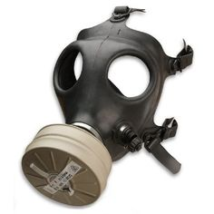 Israeli Rubber Respirator Mask NBC Protection For Industr...