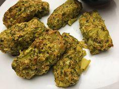 Brokkoli krokett – amit minden diétázónak ismernie kell! | Peak girl Falafel, Vegetarian Recipes, Food And Drink, Veggies, Herbs, Drinks, Healthy, Diet, Veg Recipes