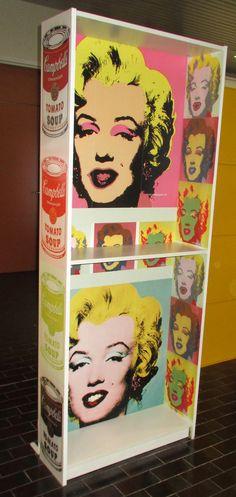 Billy melaminic bookcase - Direct digital print on the Canon Océ Arizona flatbed system